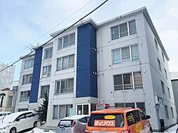 北海道札幌市中央区北六条西26の賃貸マンションの外観