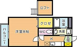 グリーンコートI番館[2階]の間取り