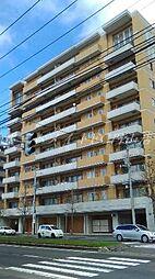 北海道札幌市中央区北九条西23丁目の賃貸マンションの外観