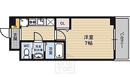 グランカーサ都島[6階]の間取り