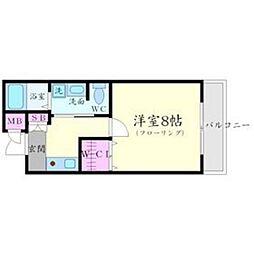 グリーンハイツ豊川II[4階]の間取り