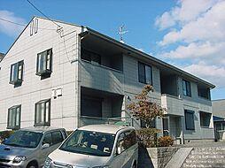 京都府京都市伏見区深草大亀谷安信町の賃貸アパートの外観