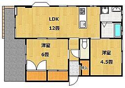 UraraIII[1階]の間取り