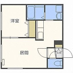 YELL東札幌[2階]の間取り