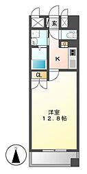 グラン・アベニュー 名駅[6階]の間取り