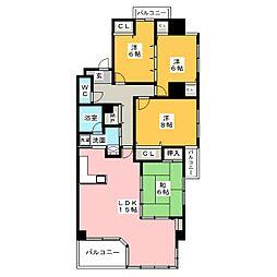 Heepop Villa[2階]の間取り