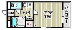 三国ヶ丘ピア[2階]の間取り
