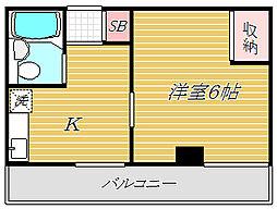 KURAMOCHIビル[3階]の間取り