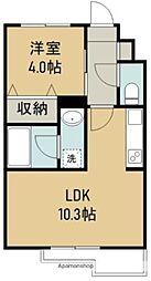 THE IoT Haranomachi β 3階1LDKの間取り