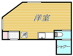ロータスガーデン東大島[3階]の間取り