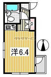 アサヒコート成城東[0306号室]の間取り