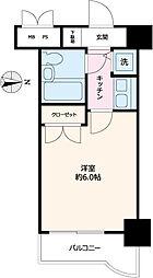 グローリア初穂東糀谷[308号室]の間取り