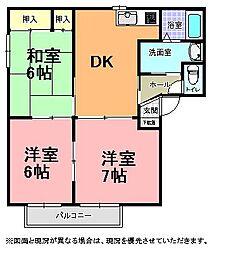 メゾンSAKURA[101号室]の間取り