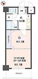 リビングステージ東仙台[3階]の間取り