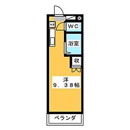 SAM−1[3階]の間取り
