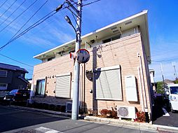 東京都練馬区東大泉6丁目の賃貸アパートの外観