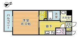 パークテラス浅生[3階]の間取り