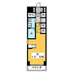 UV岩塚ビル[2階]の間取り