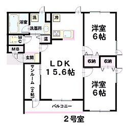 L&A191[202号室]の外観