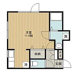 文京台K−Steage1[2階]の間取り