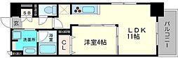江坂 和(nagomi)[5階]の間取り