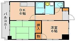 第12共立ビル[9階]の間取り
