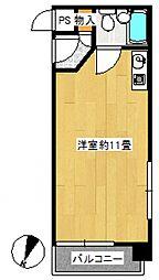 ライオンズマンション戸部[3階]の間取り