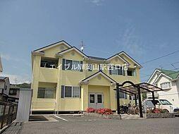 岡山県岡山市中区福泊の賃貸アパートの外観