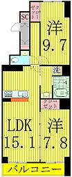 HOUSE・北柏2号棟〜ハウスキタカシワ2ゴウトウ〜[5階]の間取り