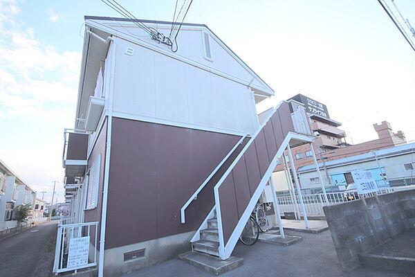 エクセルハイツB棟[1階]の外観