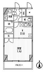 スペーシア高円寺I[413号室]の間取り