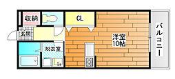 コンフォート紘[2階]の間取り