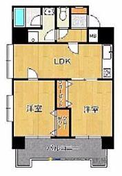 フォーラム博多駅南[2階]の間取り