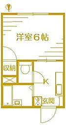 シェルコート飯倉弐番館[1階]の間取り