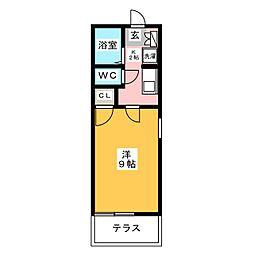 MYハイツ吉塚[2階]の間取り