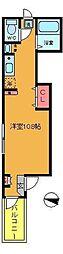 ドリームハウス亀有[3階]の間取り