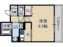 Satsuma-7[1階]の間取り