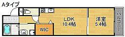 フジパレス北加賀屋EAST[1階]の間取り