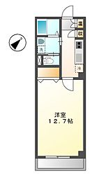 クールドノール[8階]の間取り