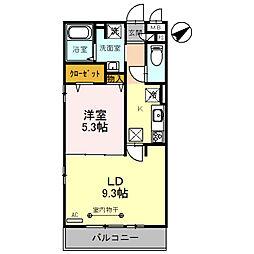(仮)D‐room粕壁東2丁目[1階]の間取り