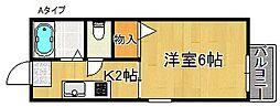 サテライトハウス[2階]の間取り