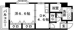 デルフィ薬院[2階]の間取り