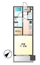 アデグランツ大須[6階]の間取り