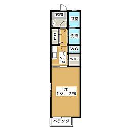 セラヴィ・マッピィ[2階]の間取り