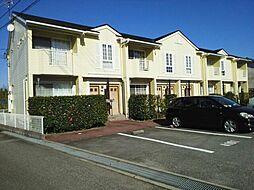 富山県富山市上二杉の賃貸アパートの外観
