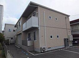 広島県福山市南松永町1丁目の賃貸アパートの外観