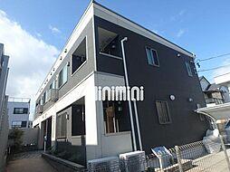 愛知県名古屋市港区正徳町1の賃貸アパートの外観