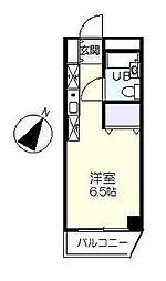 東京都江戸川区西葛西1の賃貸マンションの間取り