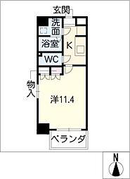 クピットガーデン千代田[2階]の間取り