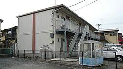 東京都羽村市神明台1丁目の賃貸アパートの外観